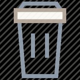 delete, dustbin, remove, trash, trashcan icon