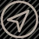 arrow, click, cursor, indicator, pointer
