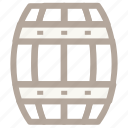 barrel, crude, oil barrel, oil container, petroleum icon