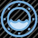life donut, life ring, lifebelt, lifebuoy, lifesaver, ring buoy icon