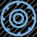 ball bearing, bearing, mechanical parts, metal bearing, rotation bearing icon