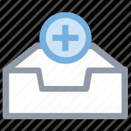 add database, database, network server, server, web hosting icon
