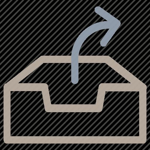 database, database arrow, network server, server, web hosting icon