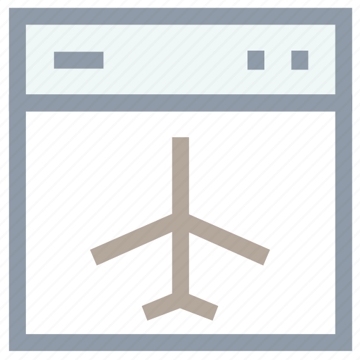 airplane, airplane mode, airplane site, aviation, website with airplane icon