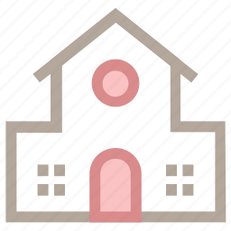 house, lodge, luxury house, modern house, residence icon