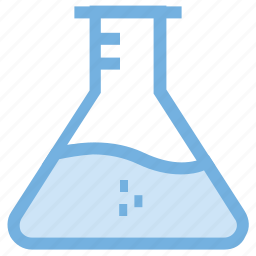 conical flask, elementary flask, erlenmeyer flask, flask, lab flask icon