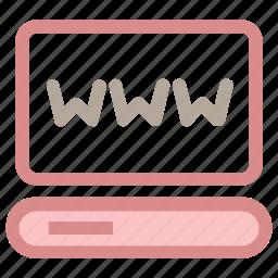 cyberspace, internet browser, internet site, website, www icon