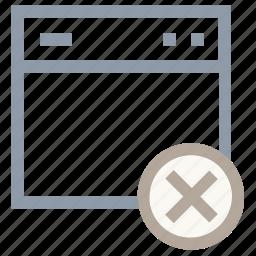 cross browsing, remove web layout, web layout, web page, web template icon