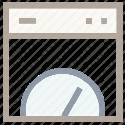 odometer, pressure indicator, speed indicator, speedo, speedometer icon