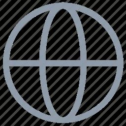 globe, ground plan, map, planet, world icon