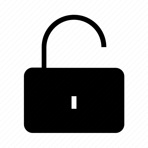 protection, safety, security, unlock icon