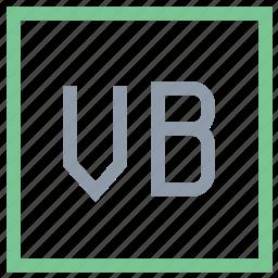 vb file, vb file format, vb file symbol, visual basic, visual basic file icon