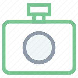 digital camera, flash camera, photo camera, photo shot, photography icon