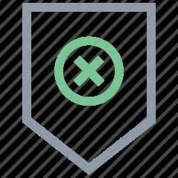 cross sale tag, label, remove tag, sale label, tag icon