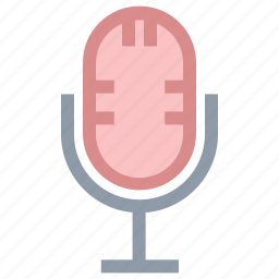 loud, mic, microphone, recording mic icon