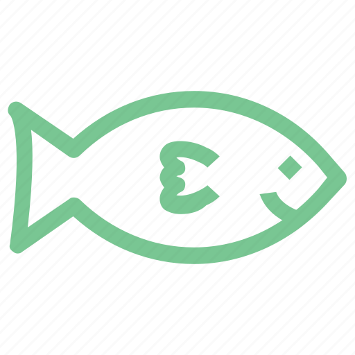 fish, fish food, fish meat, healthy food, sea food icon