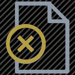 extension file, file, file editing, remove file, remove sign icon