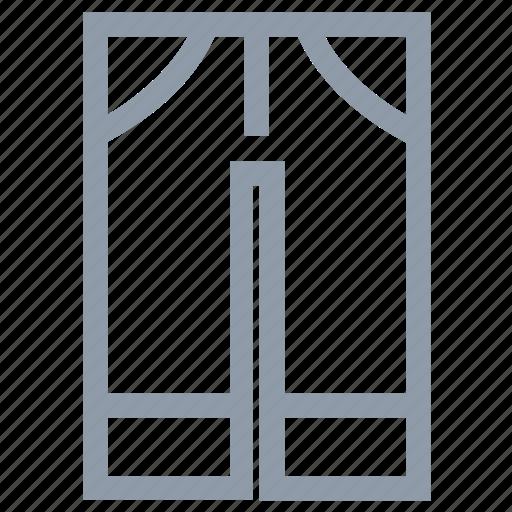 door, doorway, front door, gateway, house entrance icon