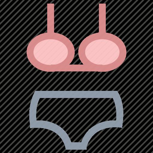 bra, brassiere, hot bikini, lingerie, pantie icon