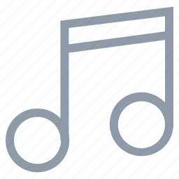 audio, music note, note, quavers icon