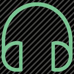 ear speakers, earbuds, earphones, headphone, headset icon