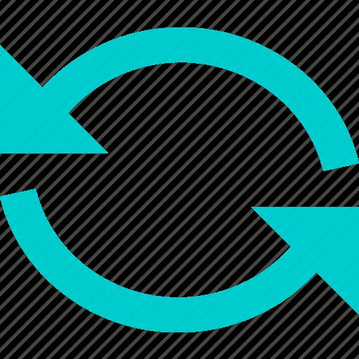 arrow, refresh, rotate icon