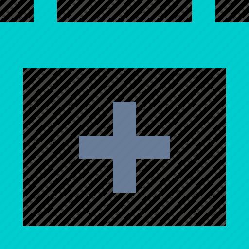 Add, calendar, event, schedule icon - Download on Iconfinder