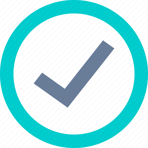 Approve, check, circle, correct icon - Download on Iconfinder