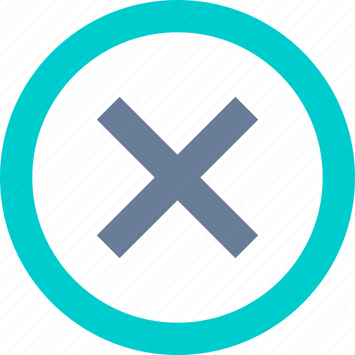 Cancel, circle, cross, delete icon - Download on Iconfinder
