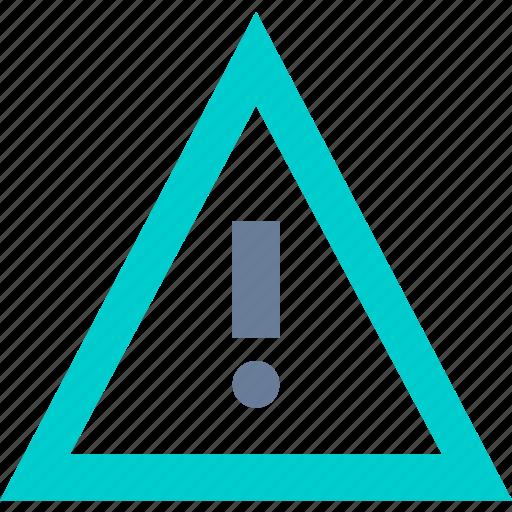 attention, danger, error, warning icon