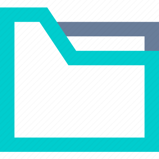 Blank, document, file, folder icon - Download on Iconfinder