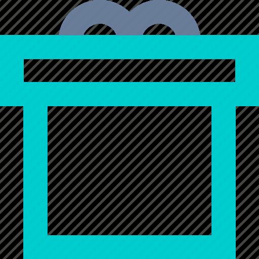 birthday, box, gift, item icon