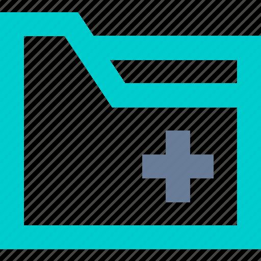 Add, document, folder, new icon - Download on Iconfinder