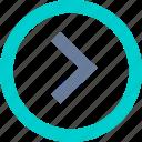 arrow, left, next, previous, right icon