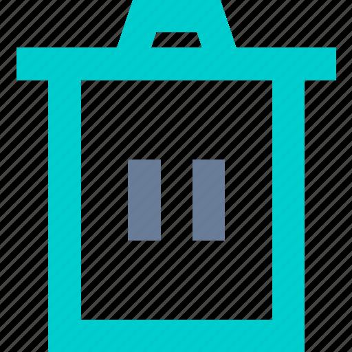 Bin, delete, erase, trash icon - Download on Iconfinder