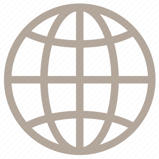 earth, globe, internet, map, world icon