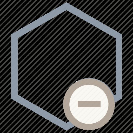 geometric element, geometric shape, graphic element, hexagon shape, hexagonal shape icon