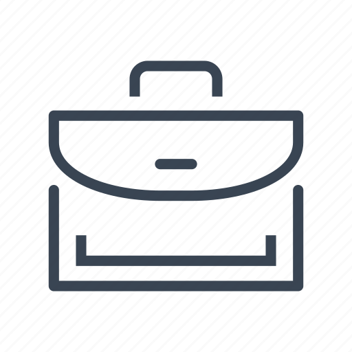 briefcase, business, office, portfolio, suitcase icon