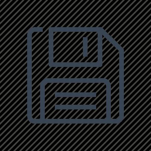 Disk, floppy, save icon - Download on Iconfinder