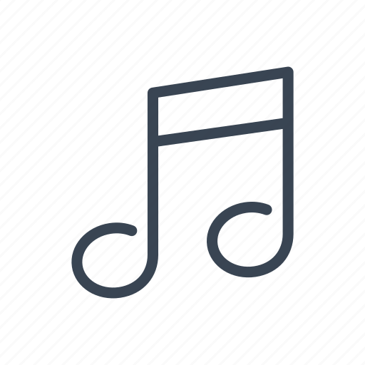 music, musical, note, sound icon