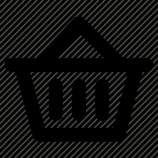 Basket, buy, hamper, hand basket, shopping icon - Download on Iconfinder