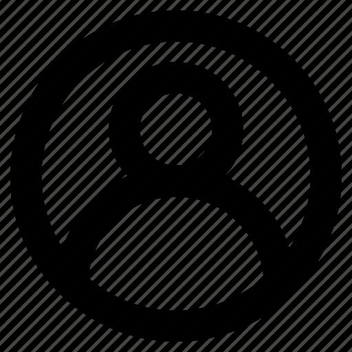 avatar, consumer, customer, person, user icon