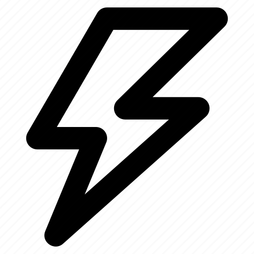 Energy, flash sign, lightning, lightning bolt, thunderbolt icon - Download on Iconfinder