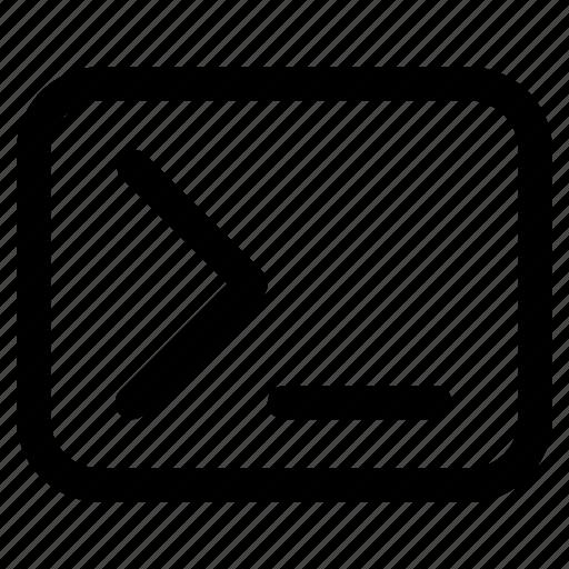 code editor, coding, programming, web terminal source page icon