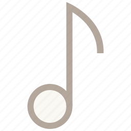 audio, music note, note, quavers icon
