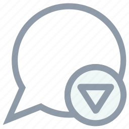 chat balloon, chat options, chat settings, message options, speech balloon icon