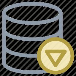 database configuration, database repairing, database setting, database tools, server setting icon