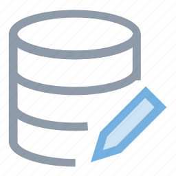 database edit, database edition, web development, web hosting, web programming icon