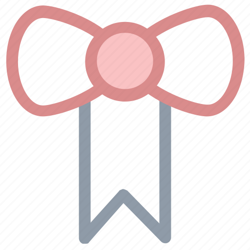 bow, bow twine, bowtie, hair bow, ribbon bow, suit bow icon