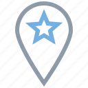 favorite location, favorite place, location pinned, location pointed, map pin
